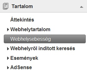 Google Analytics beta - Webhelysebesség