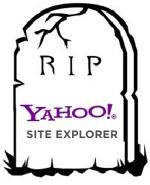 Megszűnt a Yahoo Site Explorer