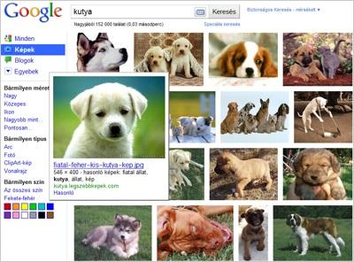 Megújult a Google képkereső